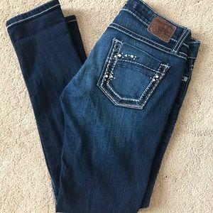BKE Stella skinny jeans in dark wash